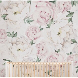 Pink wallpaper youll love wayfair save mightylinksfo