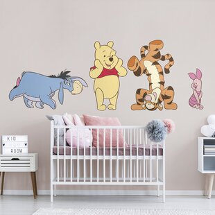 Winnie The Pooh Tiger Tree Wall Stickers Vinyl Decal Kids Nursery Decor Disney Terrific Value Baby