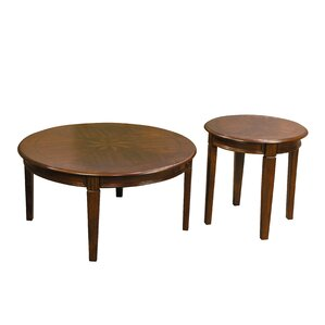 Grundy 2 Piece Coffee Table Set by Alcott Hill