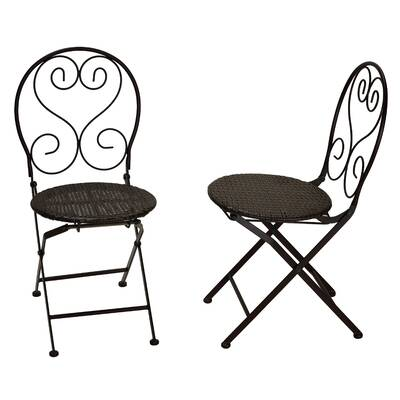 August Grove Nestor Square Folding Patio Dining Chair