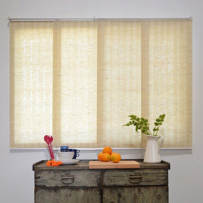 vertical chicology window room darkening blind sliding panel treatments blinds reviews pdp