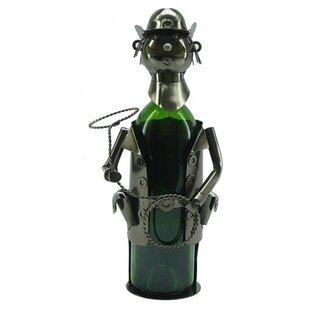 Cowboy 1 Bottle Tabletop Wine Rack