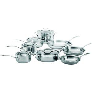 Calphalon 13-Piece Stainless Steel Cookware Set