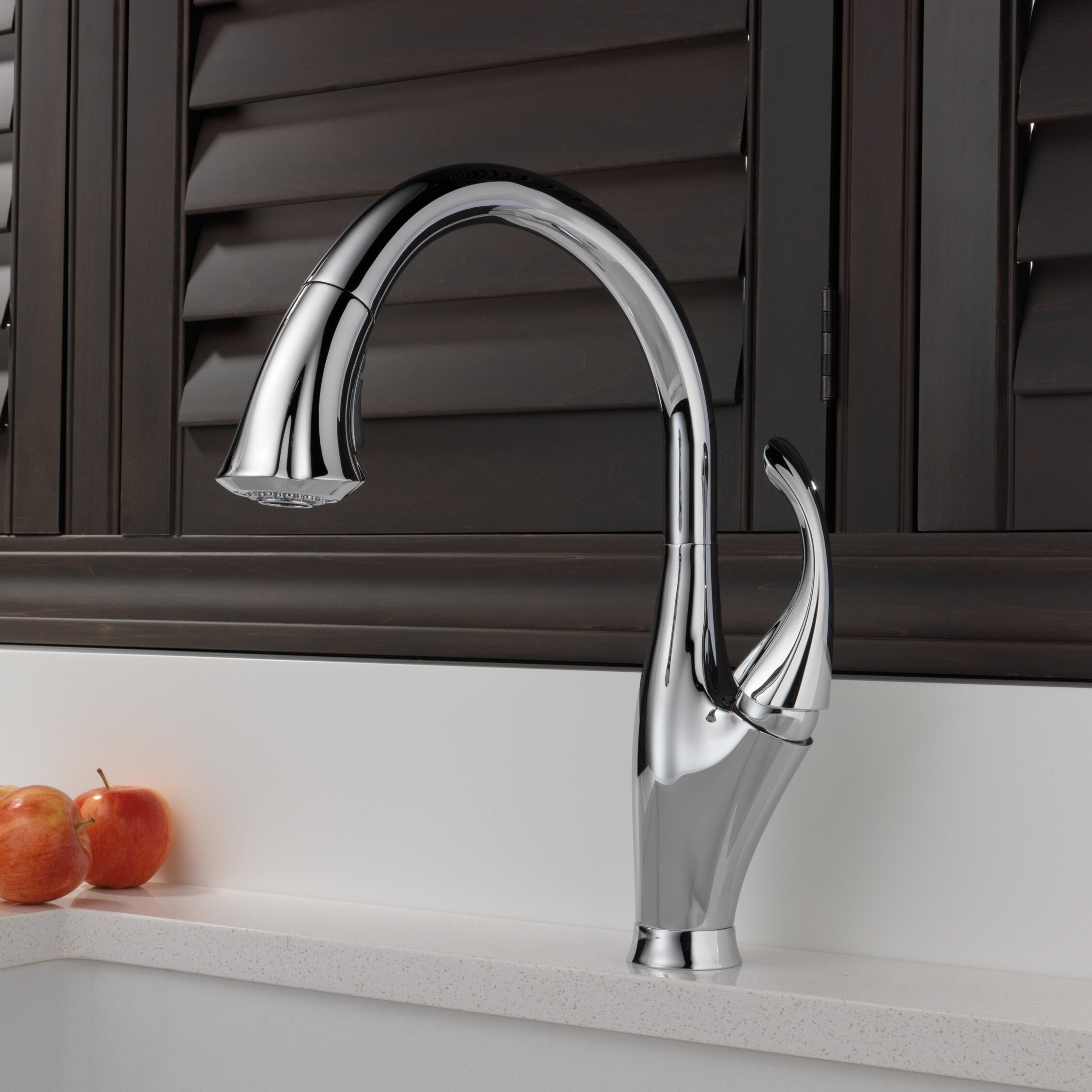 Terrific Addison Pull Down Single Handle Kitchen Faucet With Diamond Seal Technology And Magnatite Docking Download Free Architecture Designs Embacsunscenecom