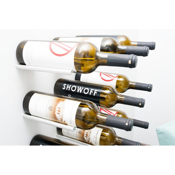 vintageview vino rails 1 bottle wall mounted wine rack u0026 reviews wayfair