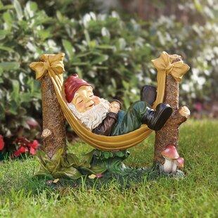 Rocky Garden Gnome Statue