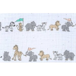 100% Cotton Parade Fitted Crib Sheet