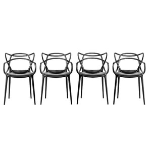 Maly Arm Chair (Set of 4) by Brayden Studio