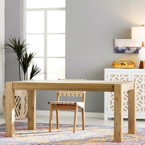 Desaree Wood Dining Table by Mistana
