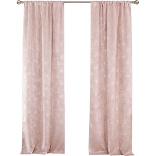 Modern Contemporary Blush Pink Curtains