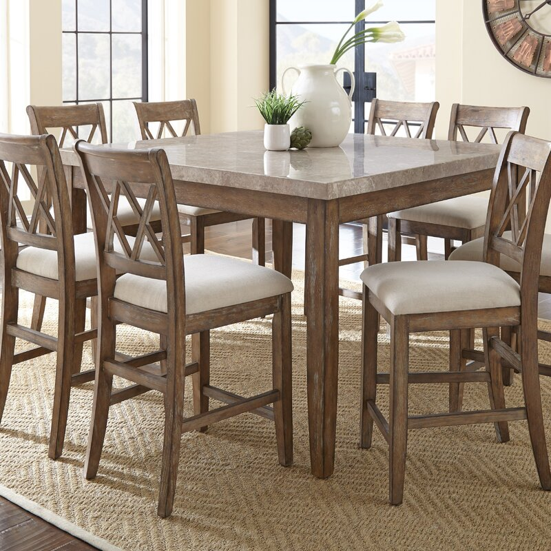 Nice High Dining Table Set Part - 9: Portneuf 9 Piece Counter Height Dining Set