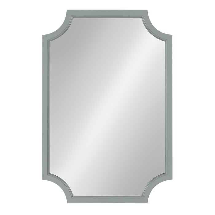 Ophelia & Co. Kate and Laurel - Hogan Wood Framed Mirror with ...