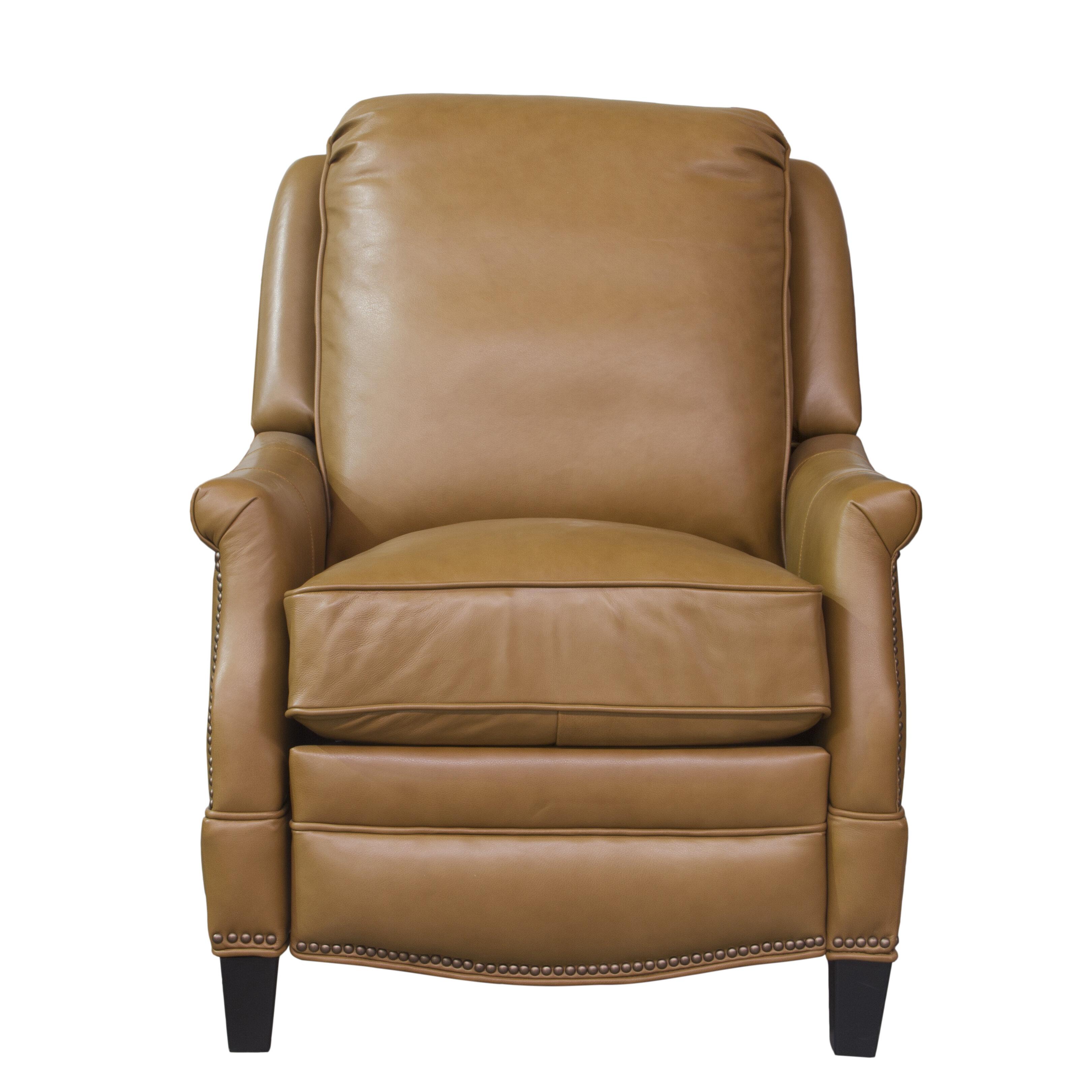 Barcalounger Ashebrooke Leather Manual Recliner U0026 Reviews   Wayfair
