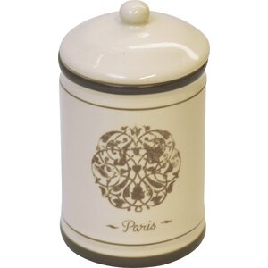 Paris Romance Bath Cotton Jar