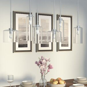 Siddharth 6-Light Kitchen Island Pendant
