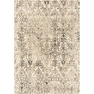 01918bed60a Caprice Vision Cream Area Rug. by Bungalow Rose