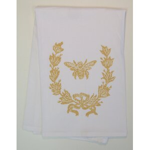French Wreath/Bee Kitchen Towel