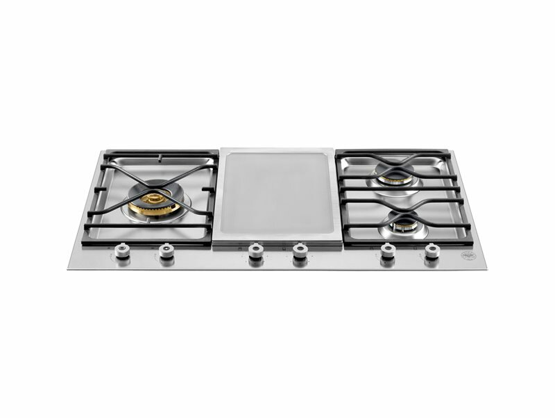 Bertazzoni Pro Series 35 Gas Cooktop with 4 Burners
