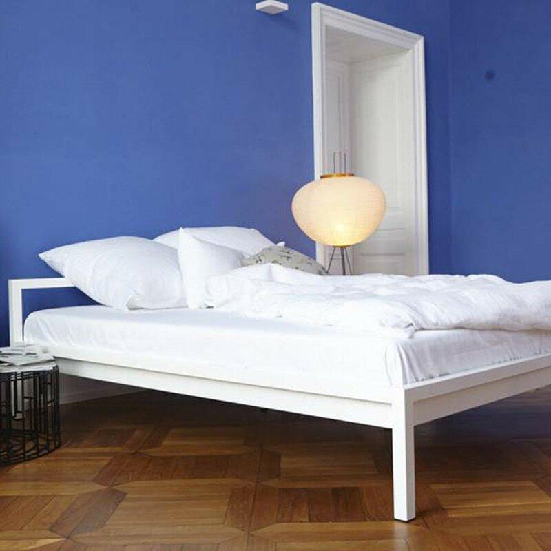 hans hansen furniture metallbett pure bewertungen. Black Bedroom Furniture Sets. Home Design Ideas