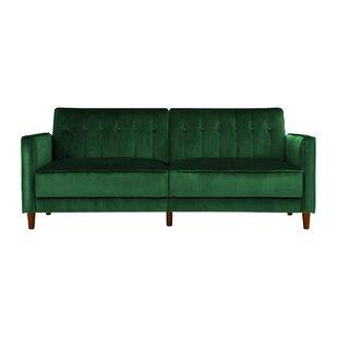 Superb Emerald Green Velvet Sofa | Wayfair