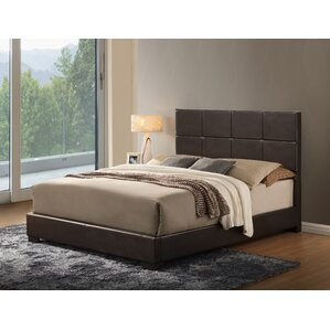 Twin Upholstered Panel Bed by Global Furniture USA