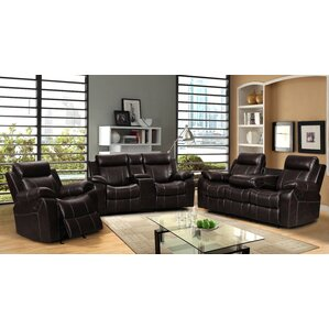 Gabrielle 3 Piece Living Room Set by Living In Style