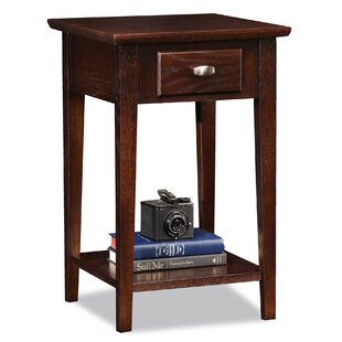 Attrayant Chocolate Oak End Table