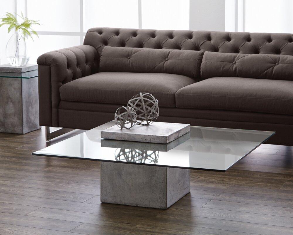 Sunpan modern mixt grange coffee table reviews wayfair mixt grange coffee table geotapseo Images