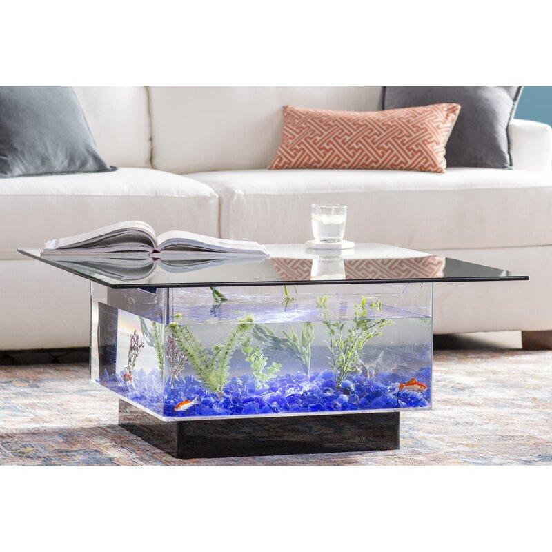 Archie Oscar Claire 25 Gallon Coffee Table Aquarium Tank Reviews