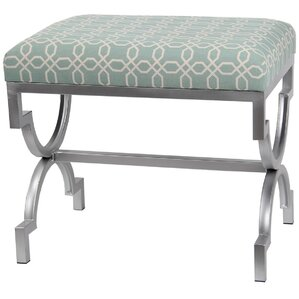 Iron Base Ottoman by Privilege