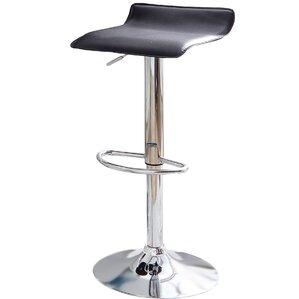 Adjustable Height Swivel Bar Stool (Set of 2) by Zipcode Design
