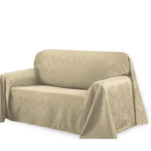 Medallion Box Cushion Sofa Slipcover by Bella Luna