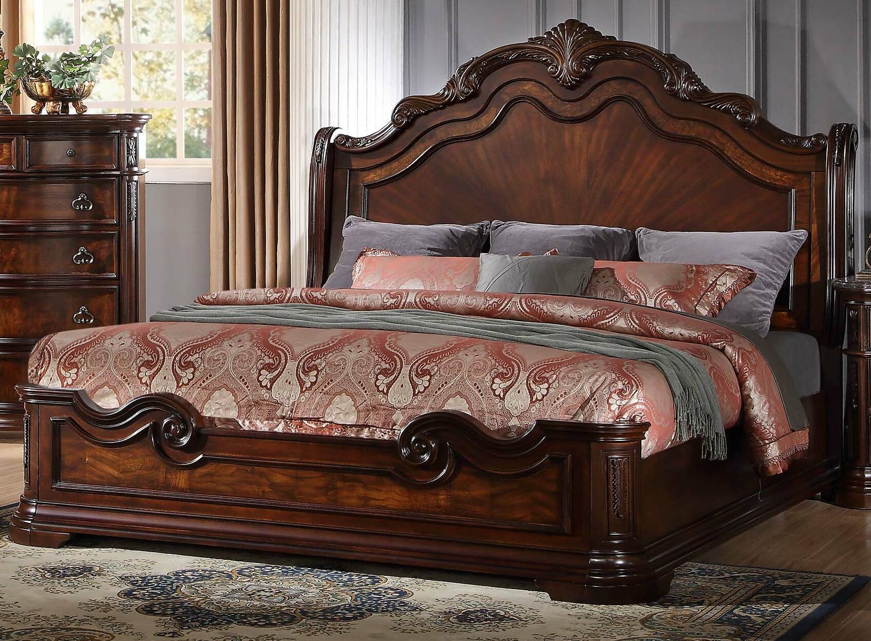Astoria Grand Fletcher Panel 5 Piece Bedroom Set Amp Reviews