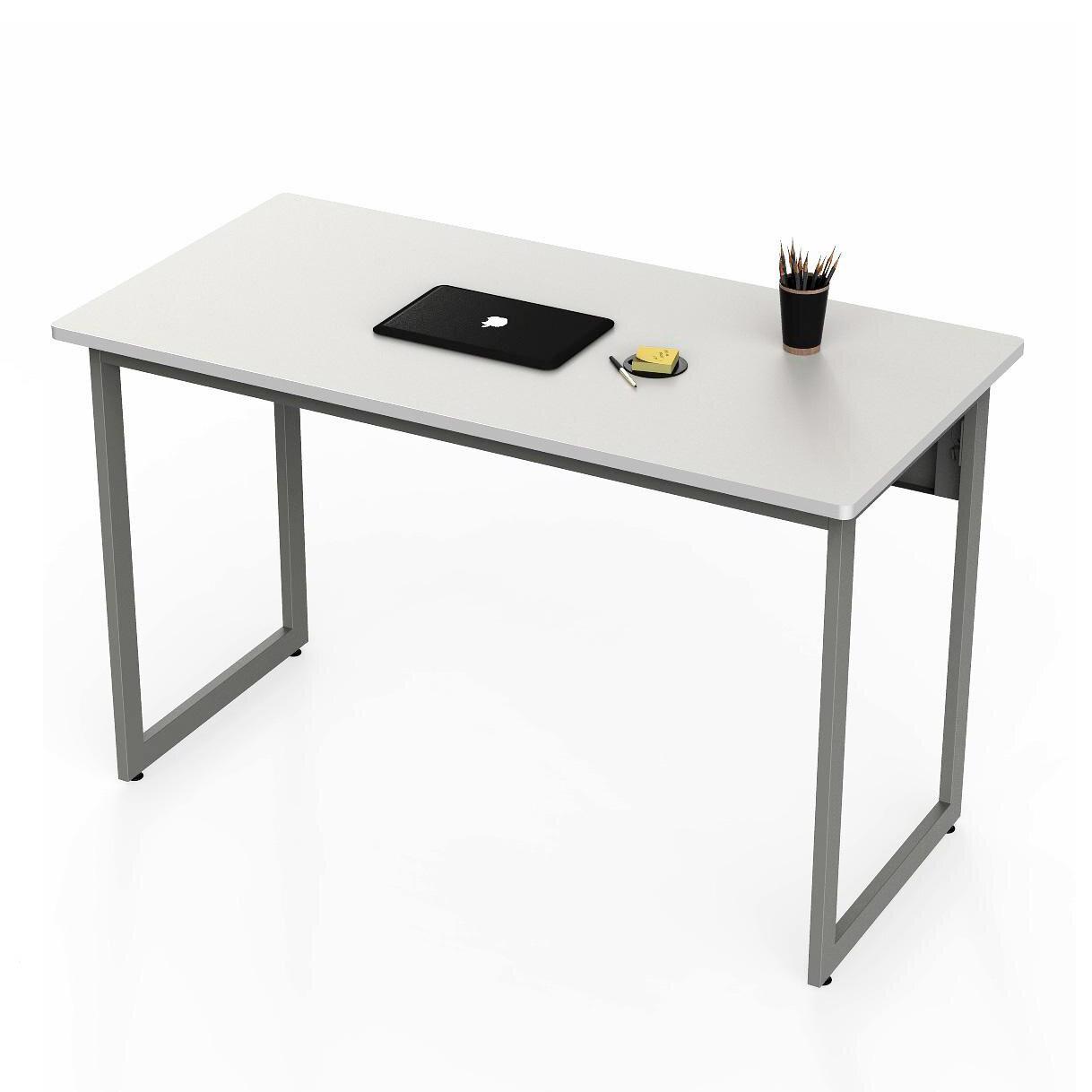 Awe Inspiring White Lacquer Office Desk Wayfair Ca Home Interior And Landscaping Pimpapssignezvosmurscom