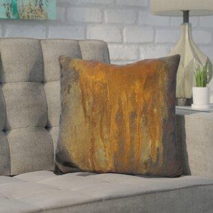 Harkins Rusted Falls Throw Pillow