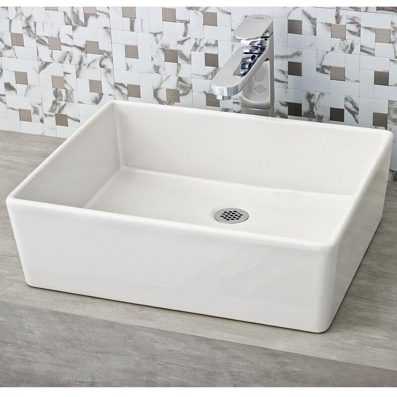 American Standard Loft Rectangular Vessel Bathroom Sink