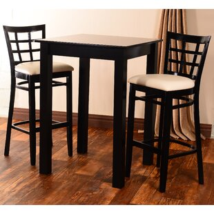 Laszakovits 3 Piece Pub Table Set