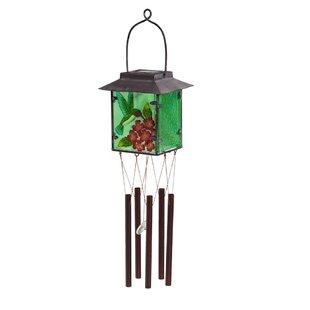Prawdzik Hummingbird Solar Wind Chime