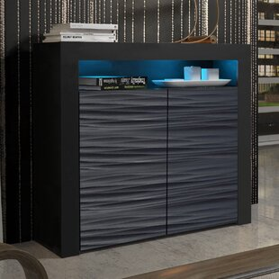Ranallo 2D Wavy Fronts Matte Body Sideboard