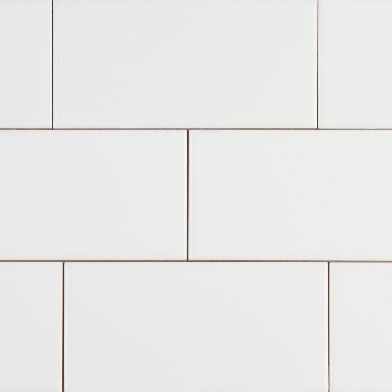 Msi Random Sized 3 X 6 Ceramic Subway Tile In White Wayfair