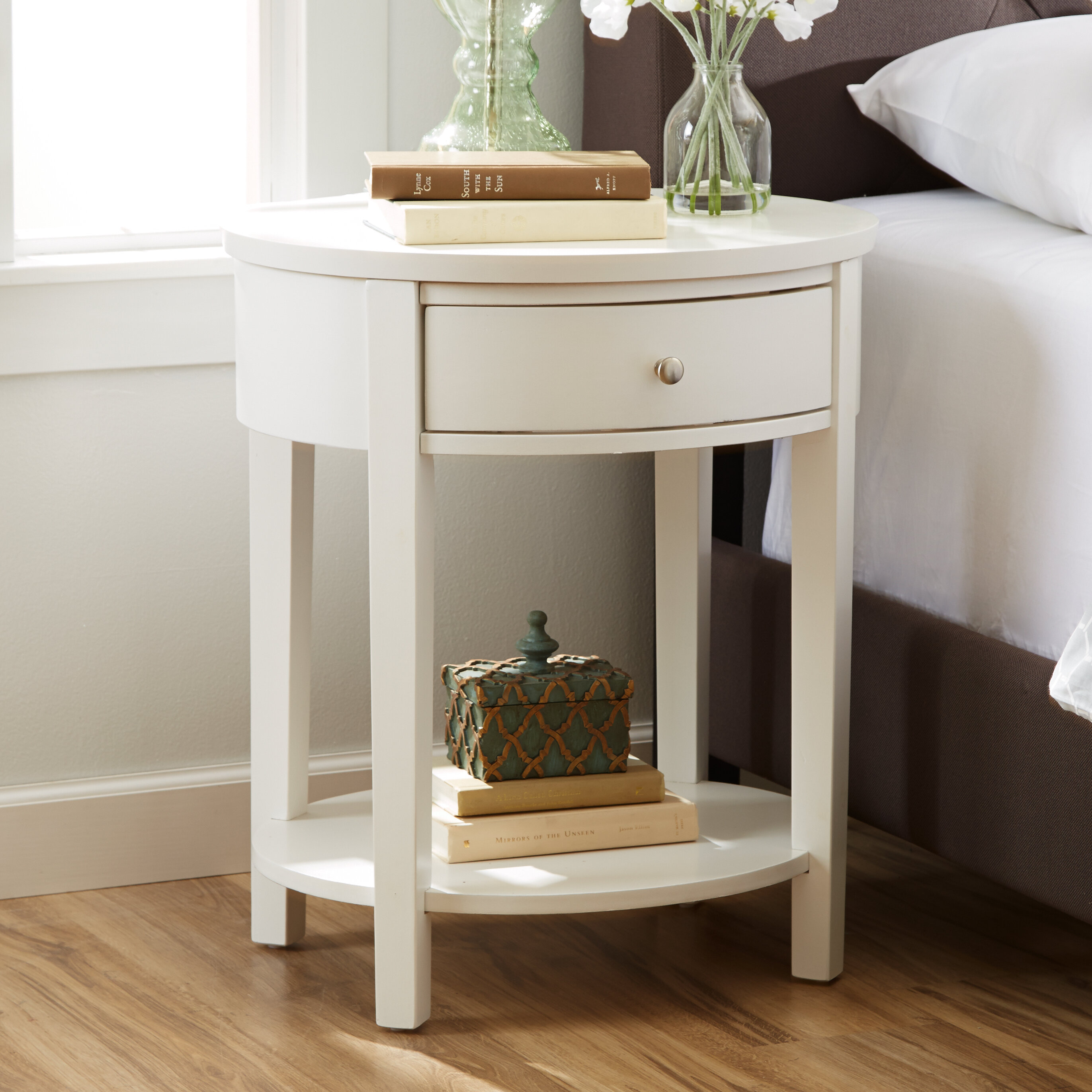 Off White End Tables Wayfair