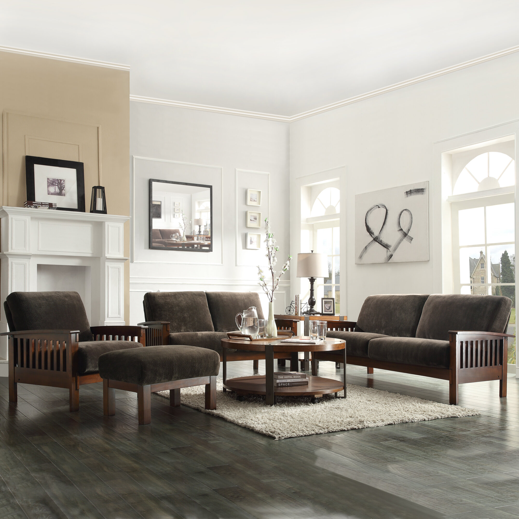 Three Posts Wayne Configurable Living Room Set & Reviews   Wayfair