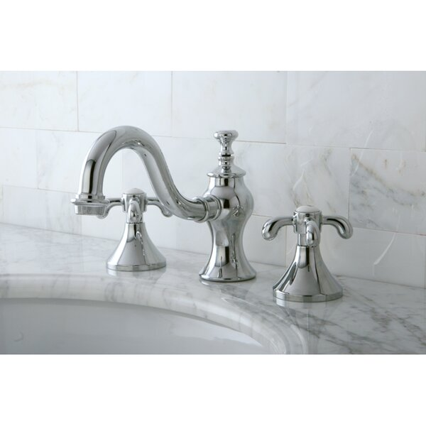 Kingston Brass French Country Widespread Bathroom Faucet with Pop-Up Drain & Reviews | Wayfair