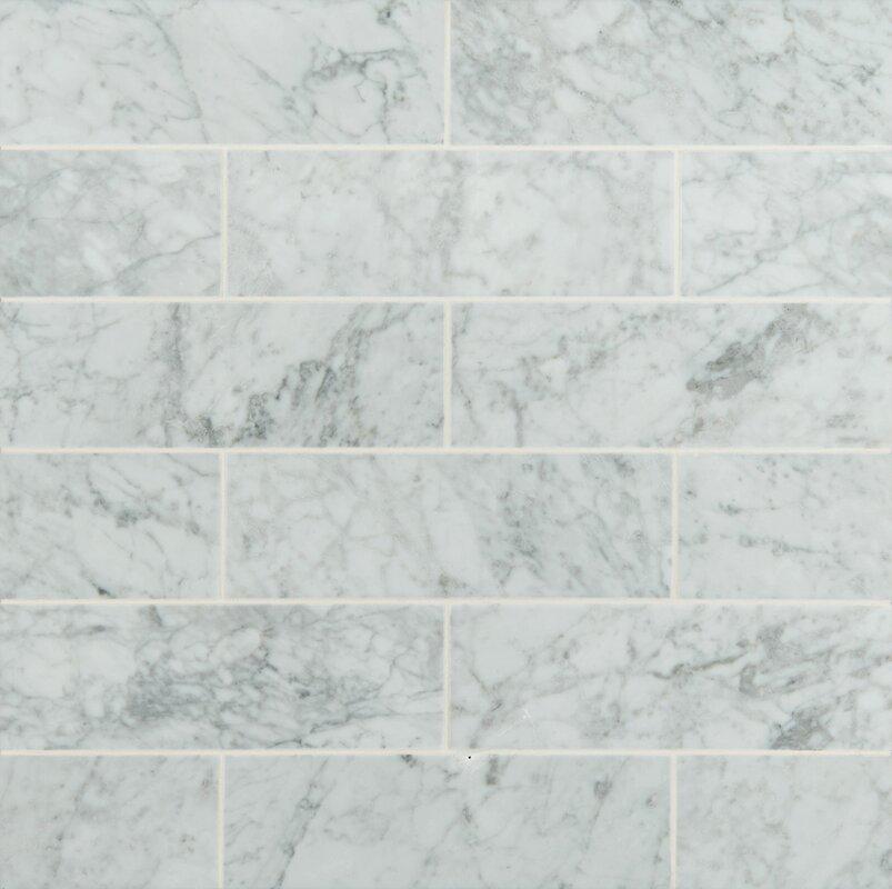 Marble Backsplash Tile You\'ll Love | Wayfair
