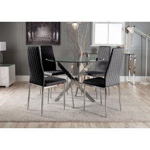 Glass Dining Table Sets You Ll Love Wayfair Co Uk