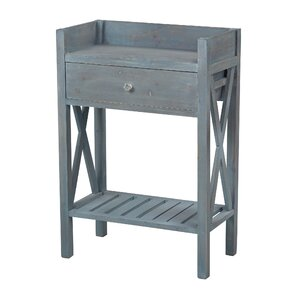 Biscayne Beachcomber Side Table by Sterling ..
