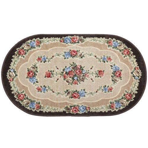 oval rugs inch beige elegance universal rug ca slp feet by amazon area