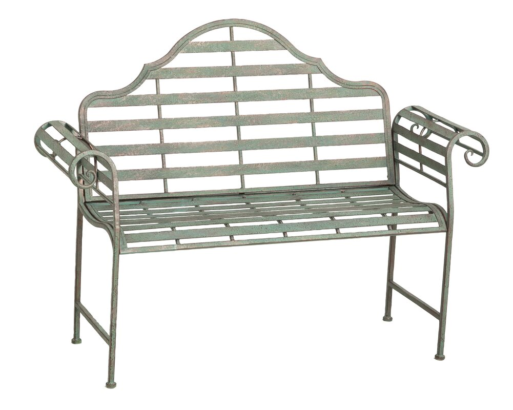 Bescott Chippendale Metal Garden Bench