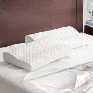 Sleep Foam  Pillow (Set of 2) by Alwyn Home