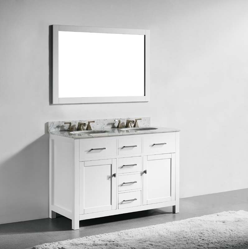 Willa Arlo Interiors Sverre 48 Quot Double Bathroom Vanity Set